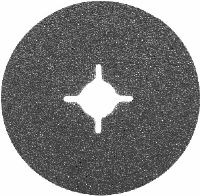 "100mm (4"") x 16mm (5/8"") silicon carbide fibre backed sanding discs. Price per 25 discs."